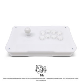 BNB Fightstick Gen 2 White Gloss Plexi Kit