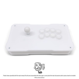 BNB Fightstick Gen 2 White Matte Plexi Kit