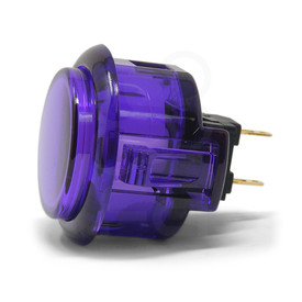Sanwa OBSC 30mm Translucent Pushbutton Purple
