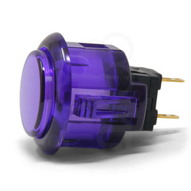 Sanwa OBSC 24mm Translucent Pushbutton Purple