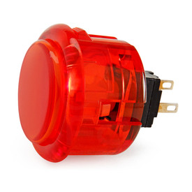 Seimitsu PS-14-K 30mm Snap In Pushbutton: Red