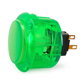 Seimitsu PS-14-K 30mm Snap In Pushbutton: Green