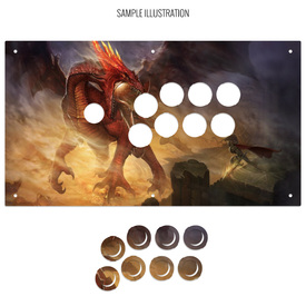 Artwork Print and Cut for MadCatz EGO, Dragonslay, GameSir, LeEco, and Gorilla Gaming Pro Fightstick