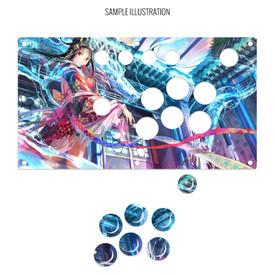 Artwork Print and Cut for Sega Virtua Stick High Grade Panel