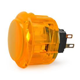 Seimitsu PS-14-K 30mm Snap In Pushbutton: Orange