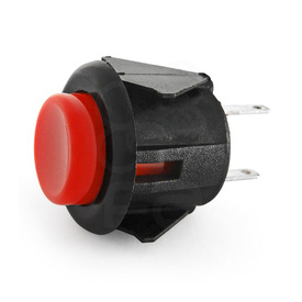 Sanwa SDM 18mm Pushbutton - Red
