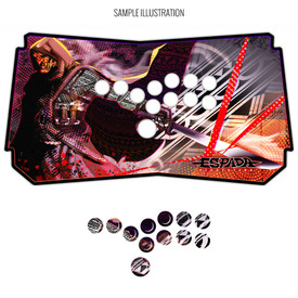Artwork Print and Cut for Espada All-Button Panel