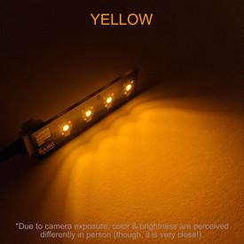 Bit Bang Gaming Player LEDs: Yellow