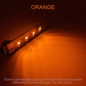 Bit Bang Gaming Player LEDs: Orange
