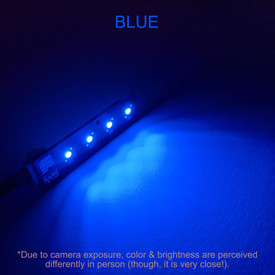 Bit Bang Gaming Player LEDs: Blue