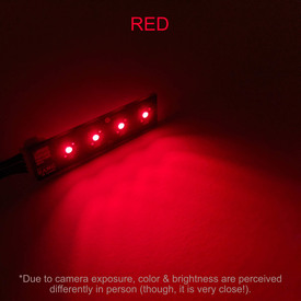 Bit Bang Gaming Player LEDs: Red