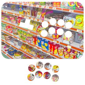 Artwork Print and Cut for Junk Food Arcades Gen 2 Snackbox WASD Panel