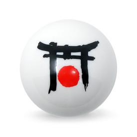 Japan Torii Decal Balltop