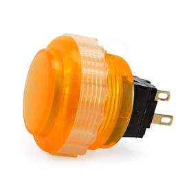Seimitsu PS-14-DNK 24mm Screw Button: Orange
