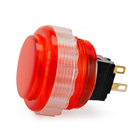 Seimitsu PS-14-DNK 24mm Screw Button: Red