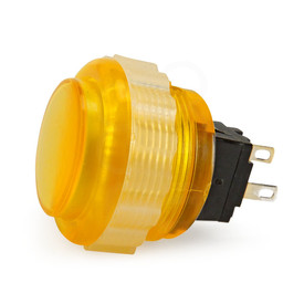 Seimitsu PS-14-DNK 24mm Screw Button: Yellow
