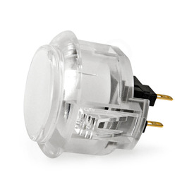 Sanwa OBSC 30mm Translucent Pushbutton Clear