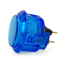 Sanwa OBSC 30mm Translucent Pushbutton Blue