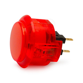 Sanwa OBSC 30mm Translucent Pushbutton Red