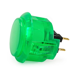 Sanwa OBSC 30mm Translucent Pushbutton Green