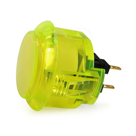Sanwa OBSC 30mm Translucent Pushbutton Yellow