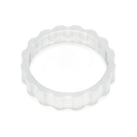 Seimitsu K-N 24mm clear screwbutton nut