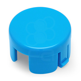 Mix & Match Sanwa OBSF 30mm Plunger: Light Blue