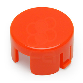 Mix & Match Sanwa OBSF 30mm Plunger: Vermillion