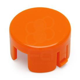 Mix & Match Sanwa OBSF 30mm Plunger: Orange