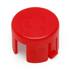 Mix & Match Sanwa OBSF 24mm Plunger: Dark Red