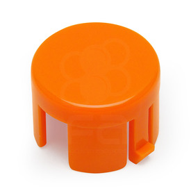Mix & Match Sanwa OBSF 24mm Plunger: Orange