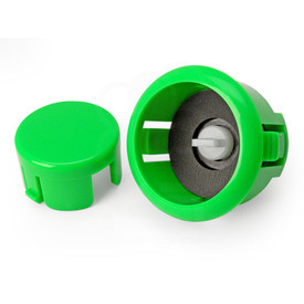 Sanwa OBSFS Silent 30mm Pushbuttons: Green