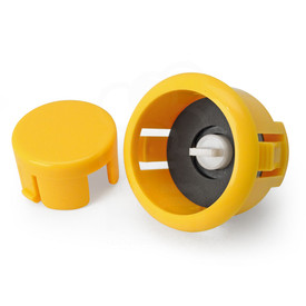 Sanwa OBSFS Silent 30mm Pushbuttons: Yellow