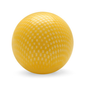 Tight Diamond Mesh Balltop Yellow