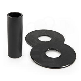 JLF-ALU Series Shaft/Dustwasher Set: Black
