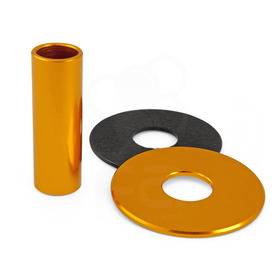 JLF-ALU Series Shaft/Dustwasher Set: Gold