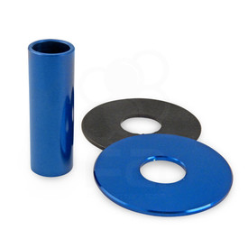 JLF-ALU Series Shaft/Dustwasher Set: Blue