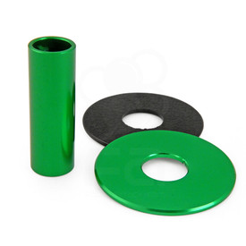 JLF-ALU Series Shaft/Dustwasher Set: Green