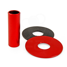 JLF-ALU Series Shaft/Dustwasher Set: Red