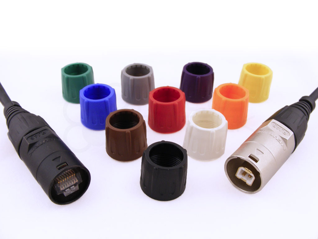 Choose from 10 colors  (NE8MC data connectors not included)