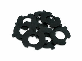 Available in a pack of 8 washers with Silencer logo sticker.