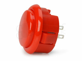 Seimitsu PS-15 Low Profile Pushbutton Red