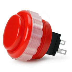 Seimitsu PS-14-DN 24mm Screwbutton Red