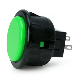 Seimitsu PS-14-G Pushbutton Green/Black