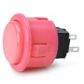 Seimitsu PS-14-D 24mm Pushbutton Pink