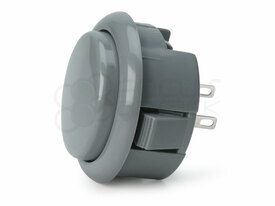 Seimitsu PS-15 Low Profile Pushbutton Ash