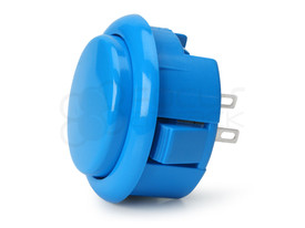 Seimitsu PS-15 Low Profile Pushbutton Light Blue