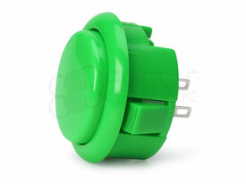Seimitsu PS-15 Low Profile Pushbutton Green