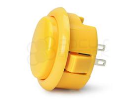 Seimitsu PS-15 Low Profile Pushbutton Yellow