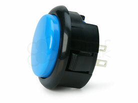 Seimitsu PS-15 Low Profile Pushbutton Light Blue/Black
